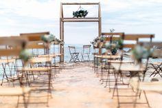 Un mariage sur une crique privée en Corse