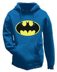blue batman hoodie! Some of the super hero love at our house must be rubbing off on me...