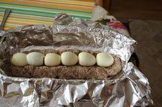 Mäsová roláda s vajíčkom (fotorecept) - recept   Varecha.sk Eggs, Breakfast, Cake, Desserts, Food, Morning Coffee, Tailgate Desserts, Deserts, Kuchen