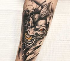 Awesome 2 colors tattoo work of Alistar from the game League of Legends, done by tattoo artist Gustavo Takazone Ox Tattoo, Bull Tattoos, Taurus Tattoos, Body Art Tattoos, Large Tattoos, Unique Tattoos, Black Tattoos, Black Work Tattoo, Krishna Tattoo