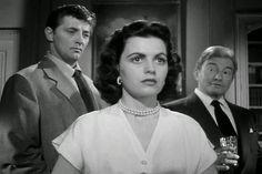 Robert Mitchum, Faith Domergue, Claude Rains Where Danger Lives (1950)
