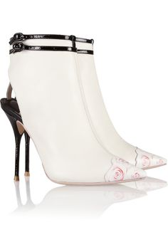 Sophia Webster | Ankle Boots aus Leder mit Cut-Out | NET-A-PORTER.COM