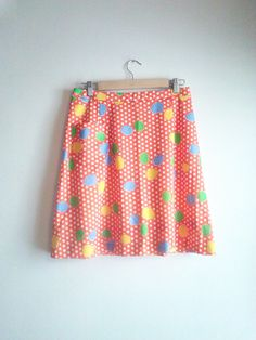 Tutti Frutti  Nantucket Sportswear Vintage Tennis Skirt Women's Size L/XL / Active Wear Skirt by JulesCristenVintage on Etsy