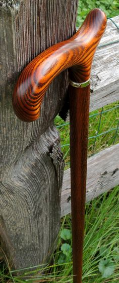 """Scorched Maple - Maple Shaft w/""""Snakeskin"""" Finish - Harvy Canes (from the Mark Dwyer Collection)"""