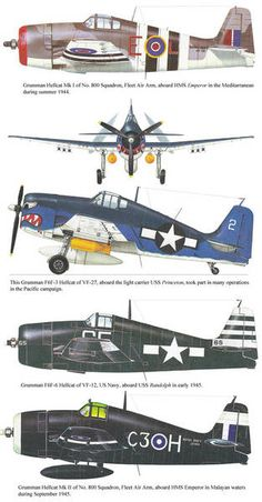 The Grumman Hellcat was a carrier-based fighter aircraft developed to replace the earlier Wildcat in United States Navy (USN) service. Grumman Aircraft, Ww2 Aircraft, Fighter Aircraft, Fighter Jets, Military Helicopter, Military Aircraft, Grumman F6f Hellcat, Aircraft Painting, Ww2 Planes