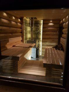 Portable Steam Sauna, Portable Spa, Finnish Sauna, Spa Rooms, Steam Room, Log Homes, Firewood, Saunas, Bathtub