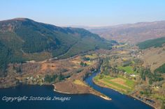 Invermoriston,Loch Ness.Aerial photograph Scotland.Prints 18x12 £25 24x16 £35 same size on canvas ready to hang £60. Order via website www.scotaviaimages.co.uk