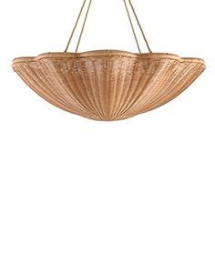 The Rattan Daisy Hanging Light - Large with Chain Wall Light Shades, Owl Lantern, Cove Lighting, Marble Wood, Forging Metal, Flush Ceiling Lights, Ceiling Rose, Hanging Lights, Rattan