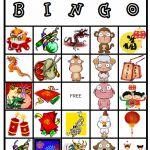 chinese new year bingo worksheets printablegames games homeschool holidays new