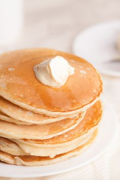 Delicious Gluten-Free Pancakes (CW--this is a great basic recipe but too runny as is. I would cut down the water a bit. I also add all the spices from a yummy gingerbread pancake recipe to this. Delish!)
