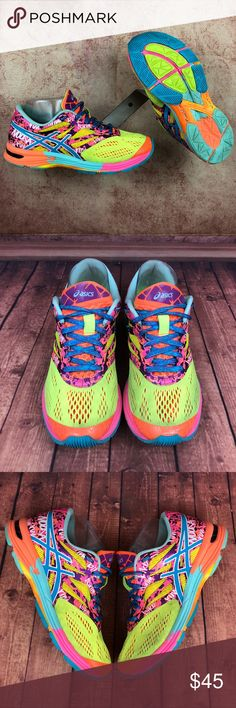 buy online 8e056 4b92f ASICS Gel Noosa Tri Wmns Sz 7 Running Shoes s198