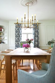 brass dining room chandelier