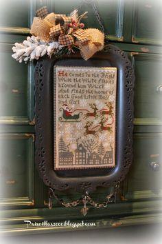 Priscillas: More Christmas Stitching :)