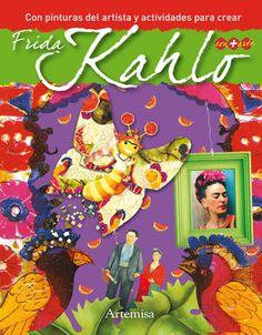 Libro con pinturas y actividades para crear.