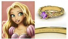 Un amore da favola: gli anelli di fidanzamento ispirati alle principesse #Disney | #Rapunzel