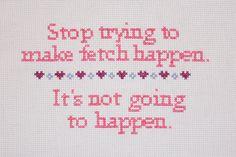 Fetch the Sampler by CarsonZickersham on Etsy