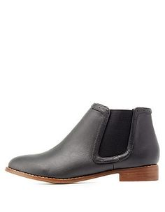 e5f1764af6e Almond Toe Chelsea Boots Black Chelsea Ankle Boots