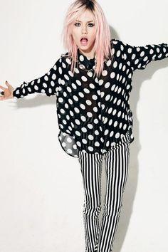+ polka dots -  Charlotte Free