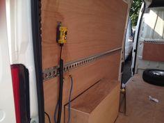 Peugeot Boxer - horizontal Cargo Rails http://www.vehicle-accessories.net/Cargo-Rail