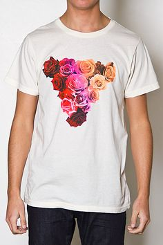 FRESHJIVE  ROSE TEE (OFF WHITE)