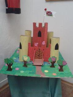 Hrad pro princezny - temperová barva