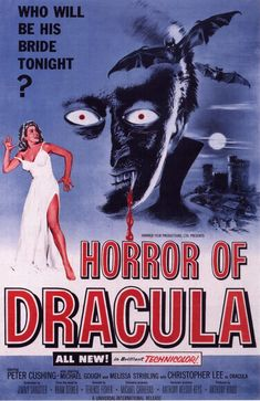#Movies #Movie #Review Horror of Dracula - Review: Terence Fisher directed Horror of Dracula (1958) is also known as Dracula (1958). The…