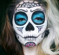 maquillage squelette mexicain pour homme