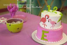 Flamingo cake #flamingo #cake