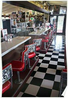 Love this kind of Diner!