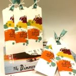 Stampin' Up! Scalloped Tag Topper Punch Bookmarks