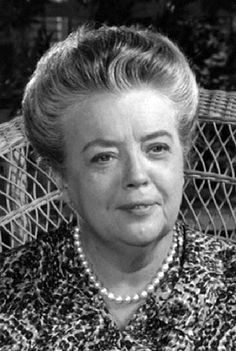 Frances Bavier (December 14, 1902 – December 6, 1989) was an American stage and television actress. Originally from New York theatre, Bavier worked in film and television from the 1950s. She is best known for her role of Aunt Bee on The Andy Griffith Show and Mayberry R.F.D. from 1960–70. Aunt Bee logged more Mayberry years