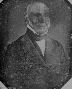 The oldest photograph of a U.S. President: Remarkable 1843 image of John Quincy Adams. . . that he called 'hideous'   This picture of John Quincy Adams was bought for 50 cents in an antique shop. It was taken in 1843