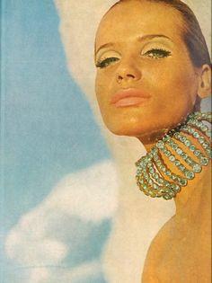 Veruschka by Franco Rubartelli, 1966.