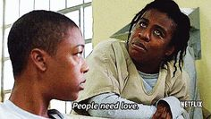 """And when Suzanne summed it all up in a nutshell.   16 Times """"Orange Is The New Black"""" Characters Gave The Best Dating Advice"""