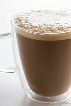 Keto Butter Coffee Recipe with MCT Oil - Keto Coffee With Butter - Why put butter in your coffee? For energy, health, & delicious, creamy taste! Learn how to make keto butter coffee with MCT oil... plus a secret ingredient.