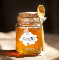 Zwavel's nest honey - Branding on Behance