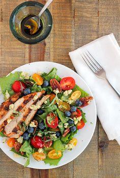 Chicken Recipes Summer Salad with Grilled Chicken recipe