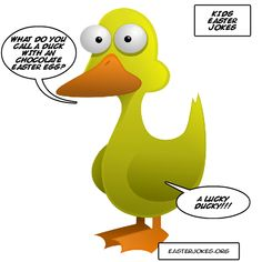 Laugh this Easter with these very funny Easter duck jokes. Duck jokes for Easter. Easter jokes for kids, adults and the family. Easter Jokes, Easter Cartoons, Hoppy Easter, Easter Funny, Bad Dad Jokes, Jokes For Kids, Cartoon Jokes, Funny Jokes, National Calendar