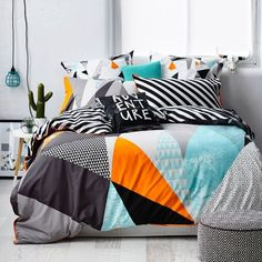 Ruckus Wanderer - Bedroom Quilt Covers & Coverlets - Adairs online