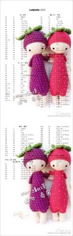 堆糖-美好生活研究所 Crochet Bear, Crochet Doll Pattern, Crochet Patterns Amigurumi, Cute Crochet, Amigurumi Doll, Crochet Dolls, Lalaloopsy, Doll Patterns, Crochet Projects