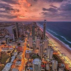 Gold Coast,Queensland in Australia.
