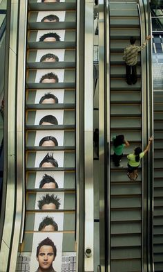 Juice Salon: Escalator | Advertising Agency: Rediffusion DY, India #ads #creative #adv #marketing