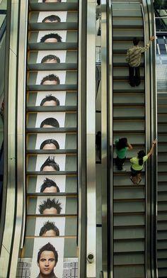 Juice Salon: Escalator | Advertising Agency: Rediffusion DY, India