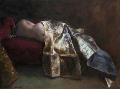 oil painting | Kathy Sleeping | Ugallery Online Art Gallery