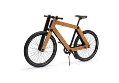 Sandwich Bike | Flat packed wooden bicycle