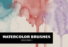 Today I'm glad to share with you a watercolor brush set. The pack contains 20 high-resolution brushes (around 2000×2000 pixels), that are perfect when applied on paper textures. Anyway there are infinite ways to use this kind of brushes, so…enjoy them!  For more design resources visit http://wegraphics.net