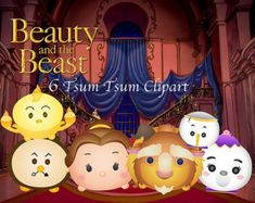 beauty and the beast tsum – Etsy MX