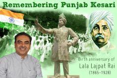 Remembering one of the architects of the Swadeshi movement #LalaLajpatRai on his birth anniversary. #PunjabKesri