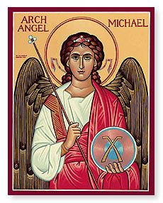 Look no further than Monastery Icons for Catholic Icons, such as this St. Saint Michael, St. Michael, Michael Angel, Religious Icons, Religious Art, Monastery Icons, Seven Archangels, The Better Angels, St Raphael