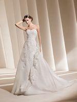 La Sposa Wedding Dresses - Style Duarte La Sposa Wedding Dresses, Wedding Dress Styles, One Shoulder Wedding Dress, Fashion Dresses, Cute Outfits, Clothes, Fashion Show Dresses, Pretty Outfits, Outfits